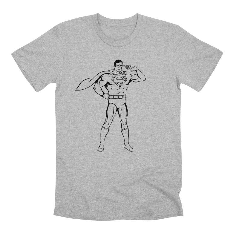 Faster Than A Speeding Bullet Men's Premium T-Shirt by KENYONB Threadless Shop