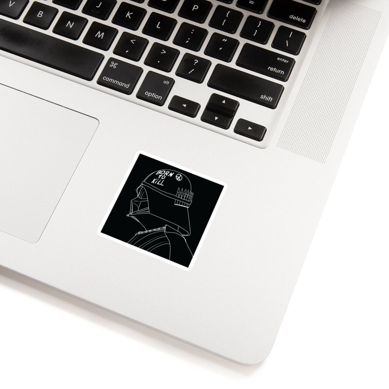 Dark Side Accessories Sticker by KENYONB Threadless Shop