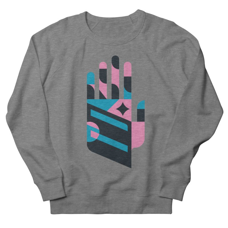 Hand Men's Sweatshirt by kevincraftco's Artist Shop