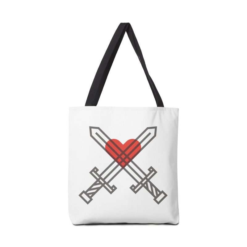 Love and War Accessories Bag by kevincraftco's Artist Shop