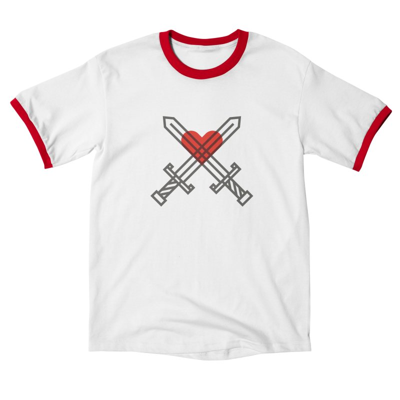Love and War Women's T-Shirt by kevincraftco's Artist Shop