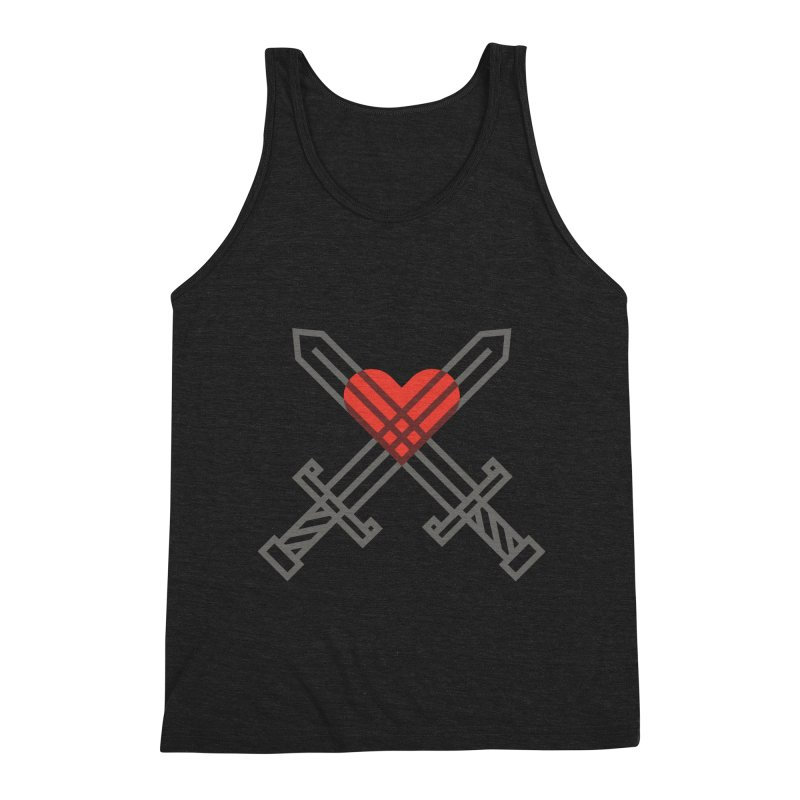 Love and War Men's Tank by kevincraftco's Artist Shop