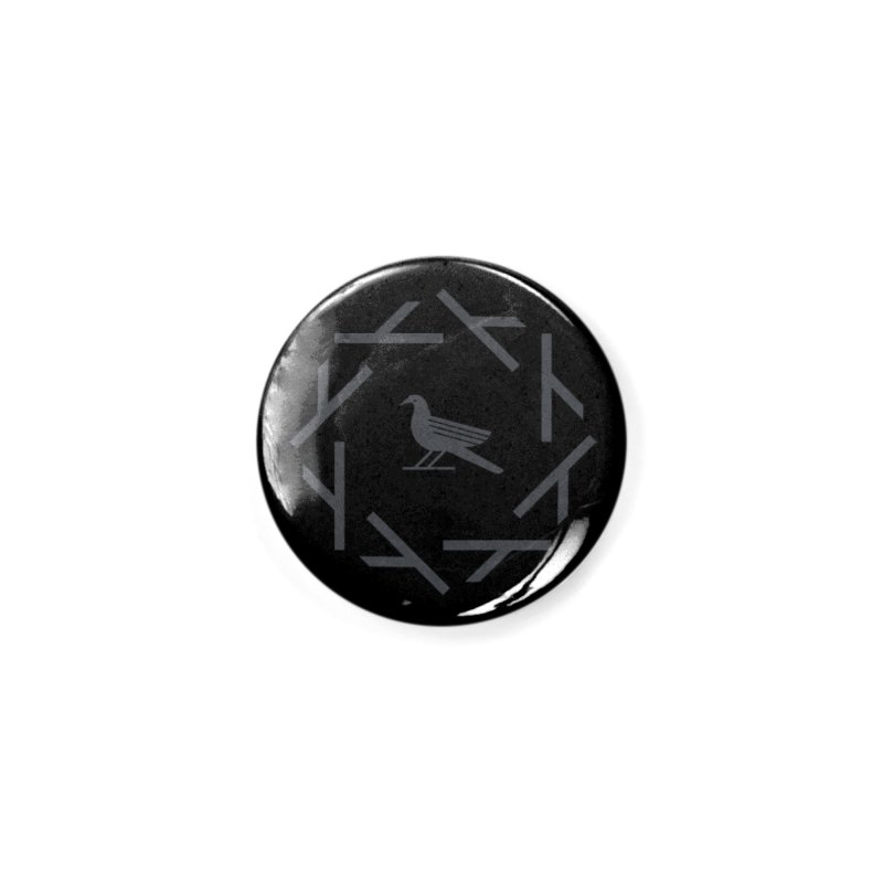 Midnight Raven Accessories Button by kevincraftco's Artist Shop