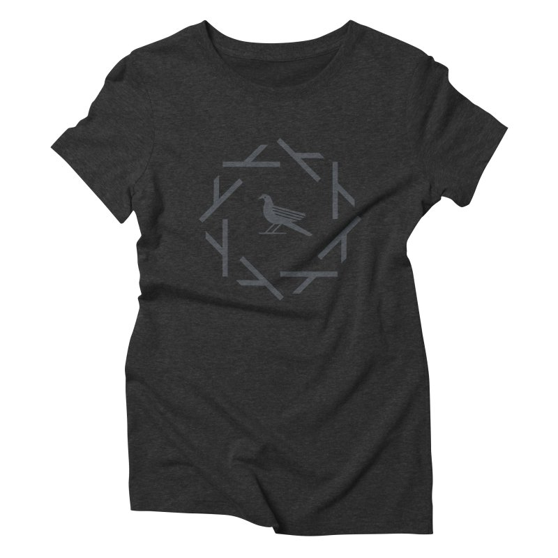 Midnight Raven Women's T-Shirt by kevincraftco's Artist Shop