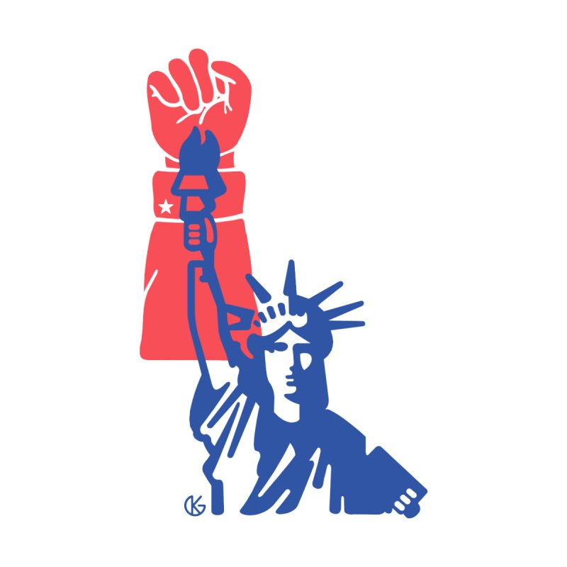 Liberty For All Men's Tank by Kevin's Pop Shop