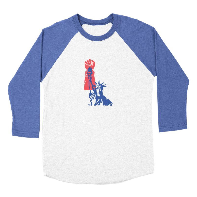 Liberty For All Men's Longsleeve T-Shirt by Kevin's Pop Shop