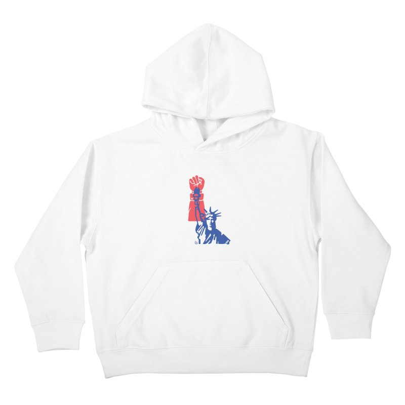 Liberty For All Kids Pullover Hoody by Kevin's Pop Shop