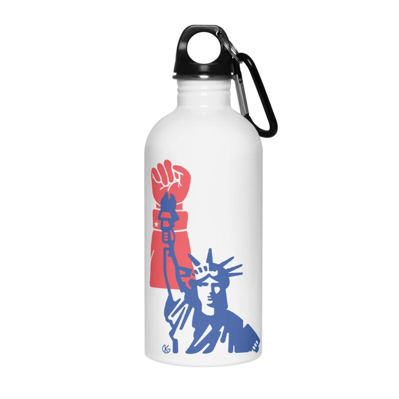 Liberty For All Accessories Water Bottle by Kevin's Pop Shop