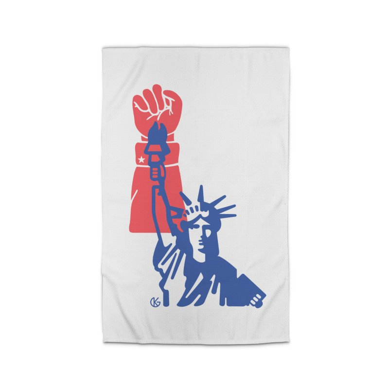 Liberty For All Home Rug by Kevin's Pop Shop