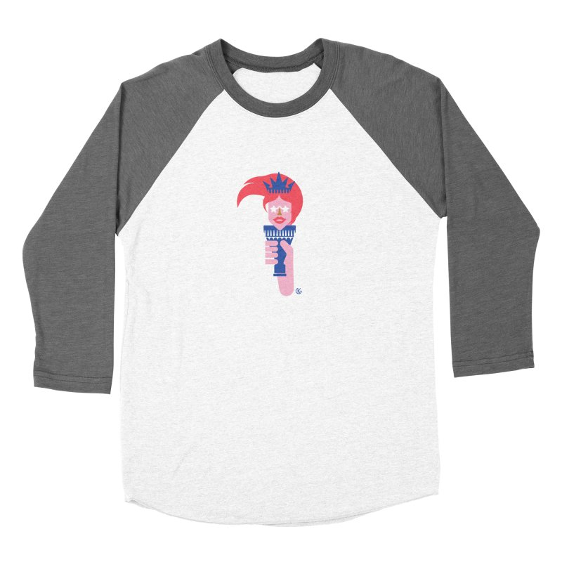 Lady Liberty Women's Longsleeve T-Shirt by Kevin's Pop Shop