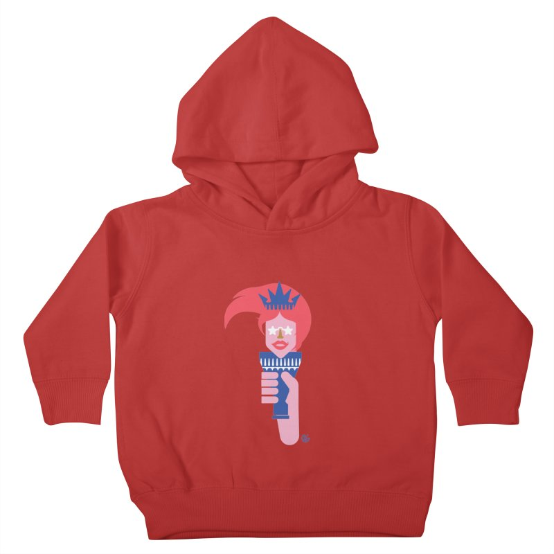 Lady Liberty Kids Toddler Pullover Hoody by Kevin's Pop Shop