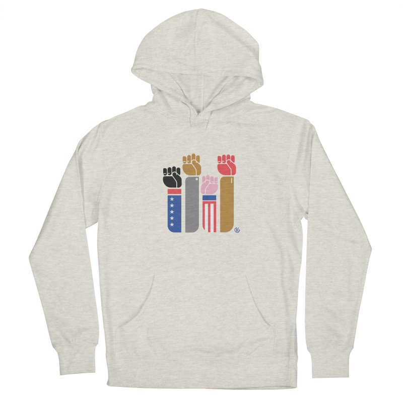 United We Stand Men's Pullover Hoody by Kevin's Pop Shop