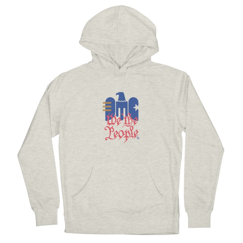 We The People Men's Pullover Hoody by Kevin's Pop Shop