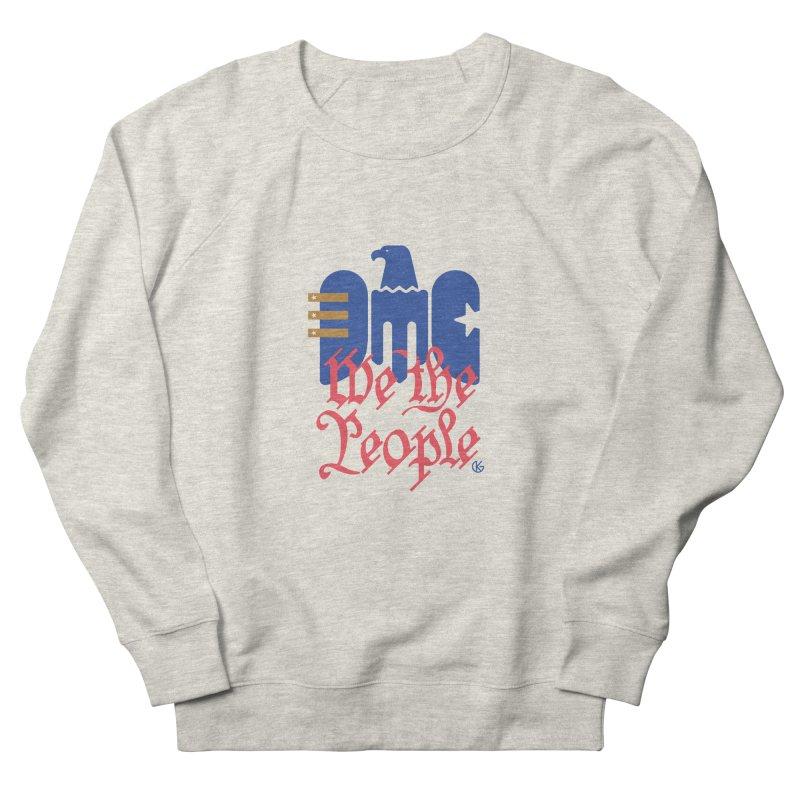 We The People Women's Sweatshirt by Kevin's Pop Shop