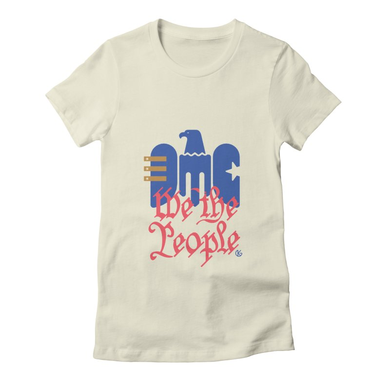 We The People Women's T-Shirt by Kevin's Pop Shop