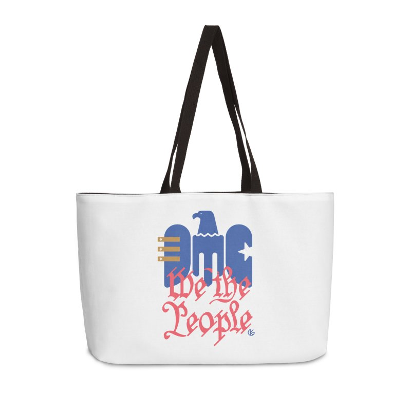 We The People Accessories Weekender Bag Bag by Kevin's Pop Shop