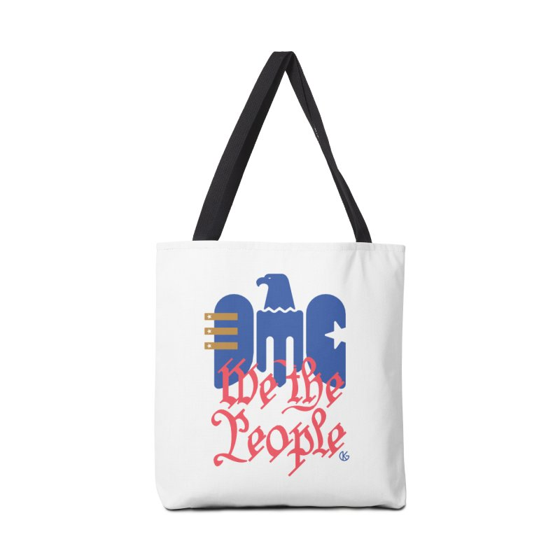 We The People Accessories Tote Bag Bag by Kevin's Pop Shop