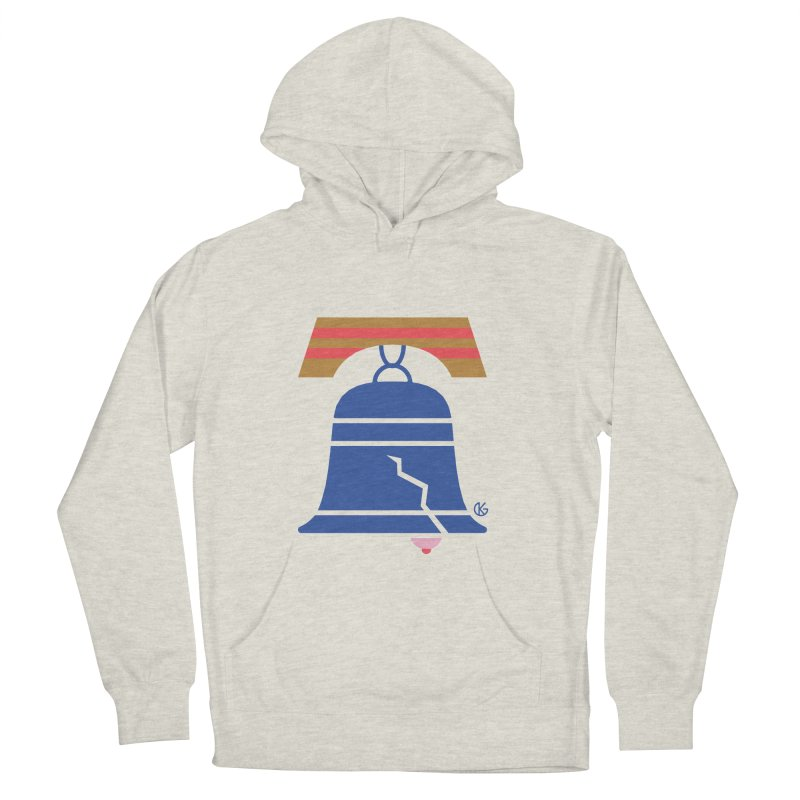 Liberty for Women Men's French Terry Pullover Hoody by Kevin's Pop Shop