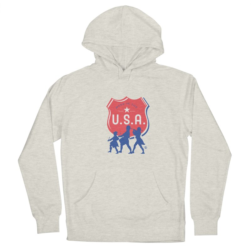Made In The U.S.A. Men's Pullover Hoody by Kevin's Pop Shop