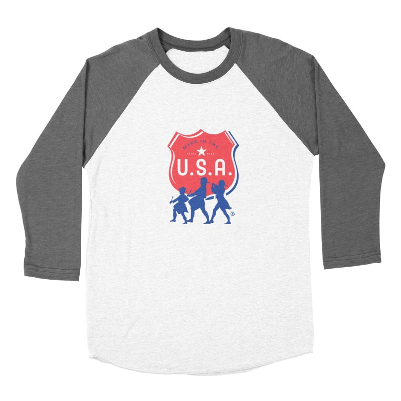 Made In The U.S.A. Men's Longsleeve T-Shirt by Kevin's Pop Shop