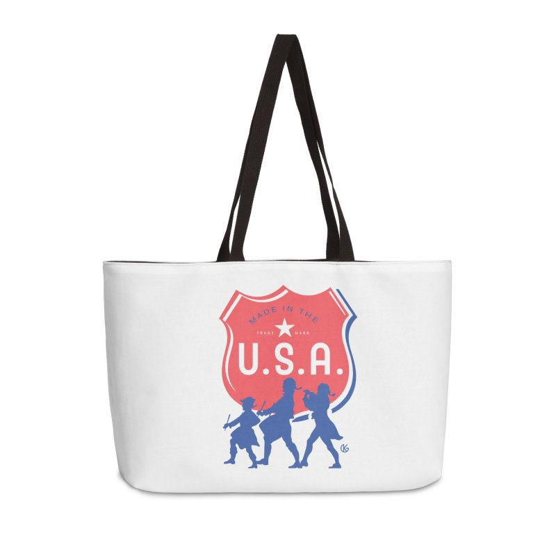 Made In The U.S.A. Accessories Bag by Kevin's Pop Shop