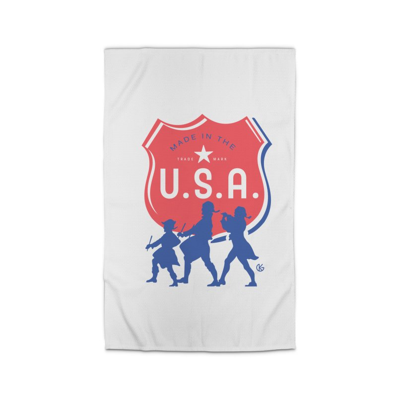 Made In The U.S.A. Home Rug by Kevin's Pop Shop