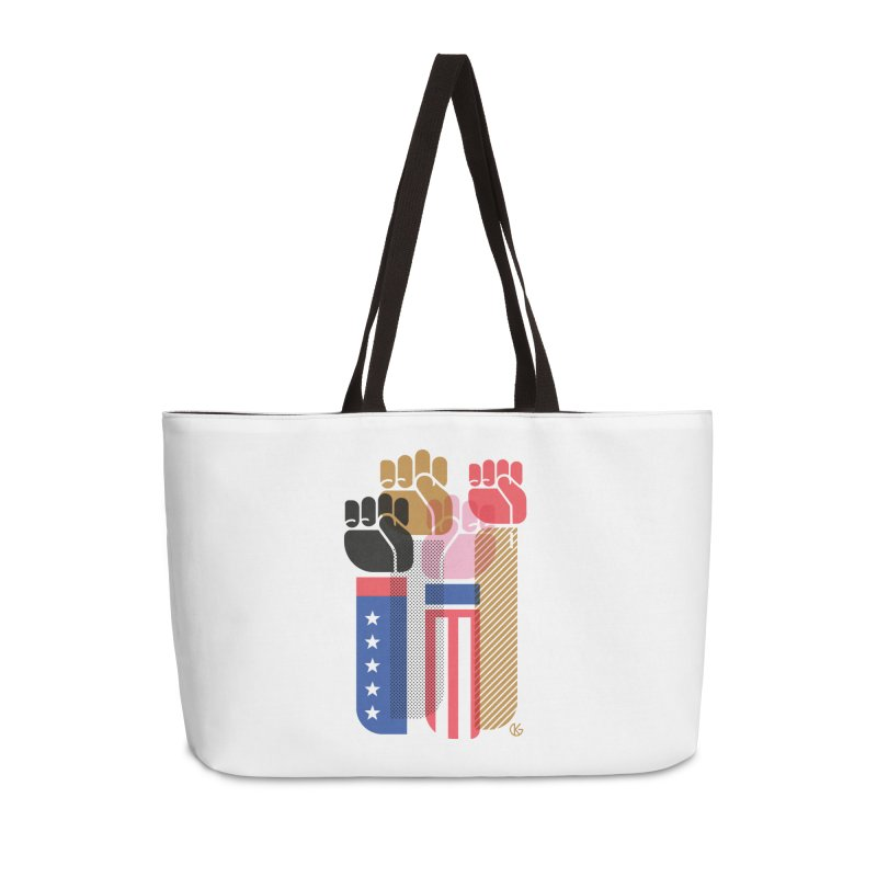 United We Stand Accessories Bag by Kevin's Pop Shop