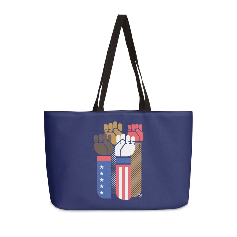 United We Stand Accessories Weekender Bag Bag by Kevin's Pop Shop