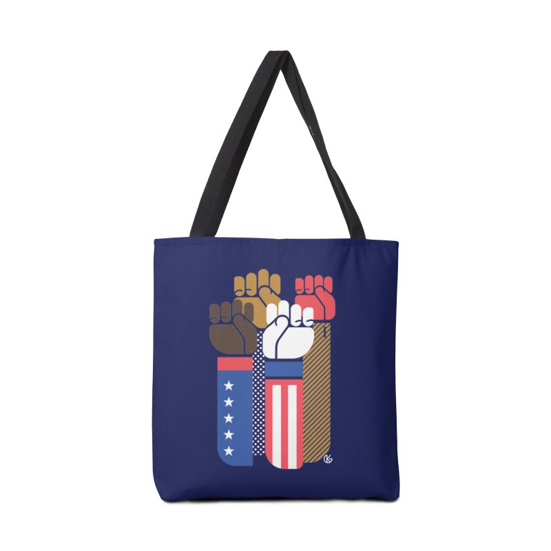 United We Stand Accessories Tote Bag Bag by Kevin's Pop Shop