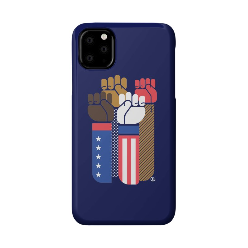 United We Stand Accessories Phone Case by Kevin's Pop Shop