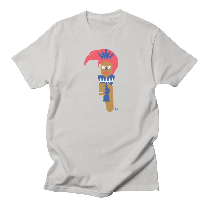 Lady Libery Women's T-Shirt by Kevin's Pop Shop