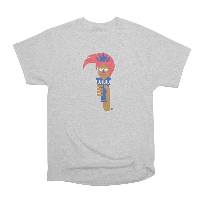 Lady Libery Men's Heavyweight T-Shirt by Kevin's Pop Shop