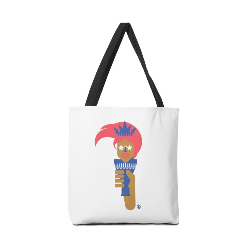 Lady Libery Accessories Tote Bag Bag by Kevin's Pop Shop