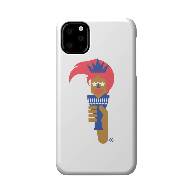 Lady Libery Accessories Phone Case by Kevin's Pop Shop