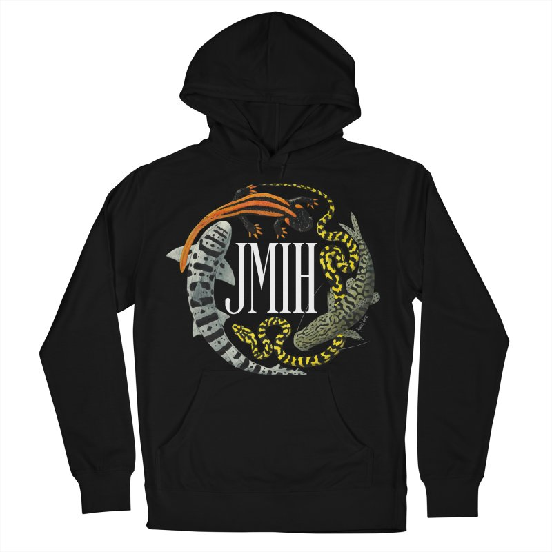 JMIH (for dark background) Women's French Terry Pullover Hoody by Kevin L. Wang Designs