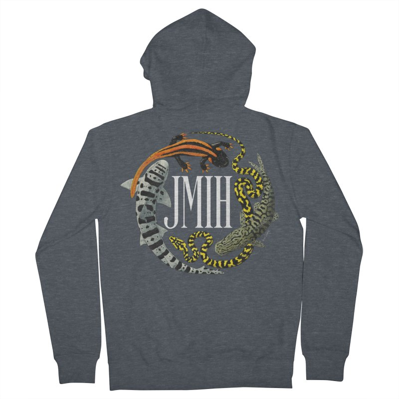 JMIH (for dark background) Women's Zip-Up Hoody by Kevin L. Wang Designs