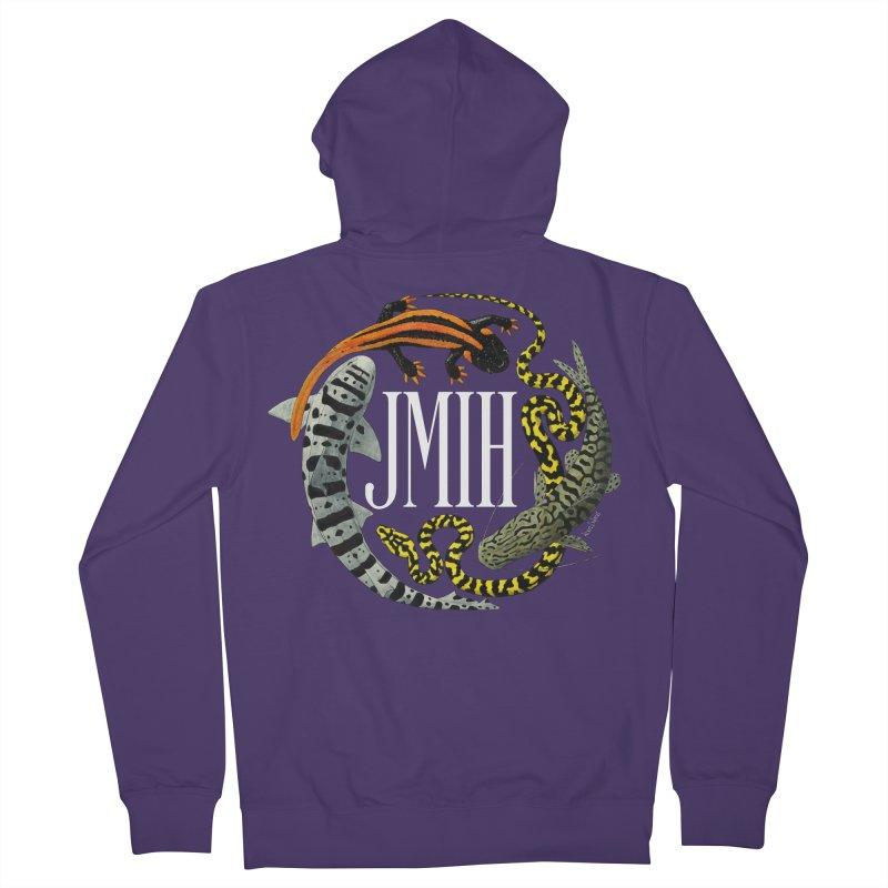 JMIH (for dark background) Women's Zip-Up Hoody by Kevin L. Wang Designs