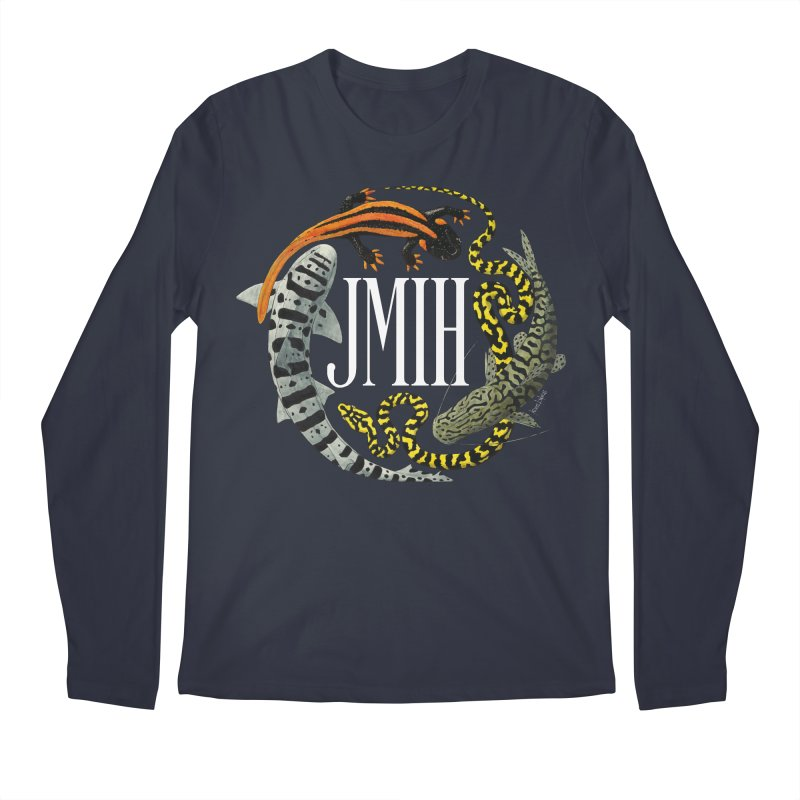 JMIH (for dark background) Men's Longsleeve T-Shirt by Kevin L. Wang Designs