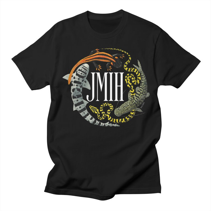 JMIH (for dark background) Men's T-shirt by Kevin L. Wang Designs
