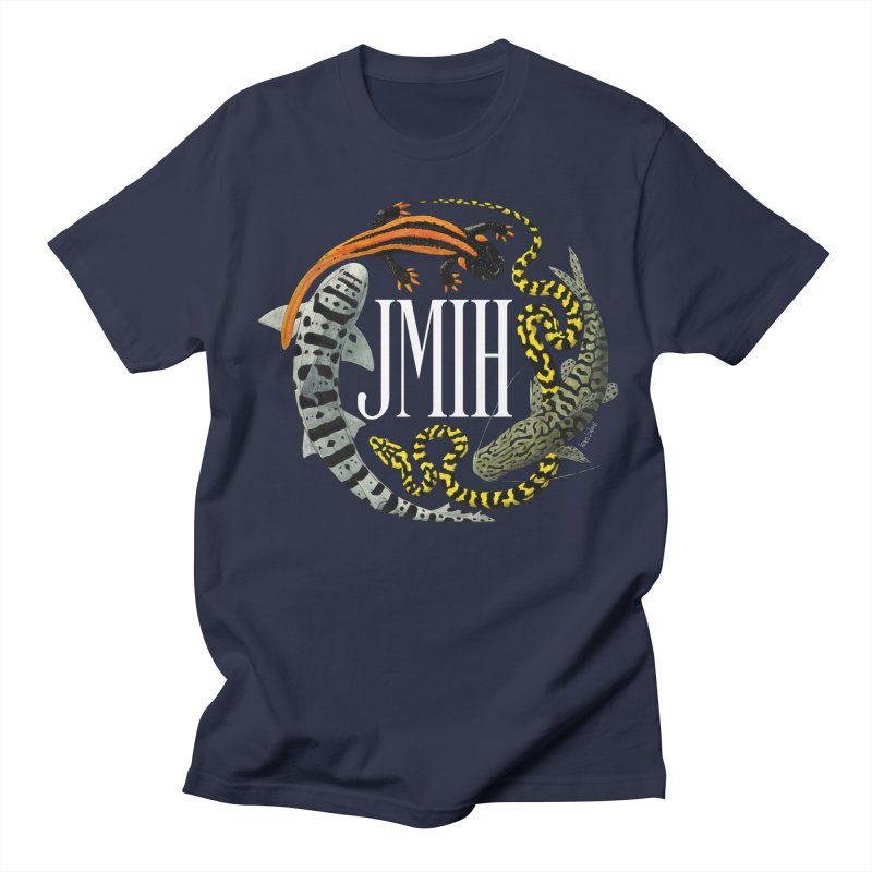 JMIH (for dark background) Men's Regular T-Shirt by Kevin L. Wang Designs