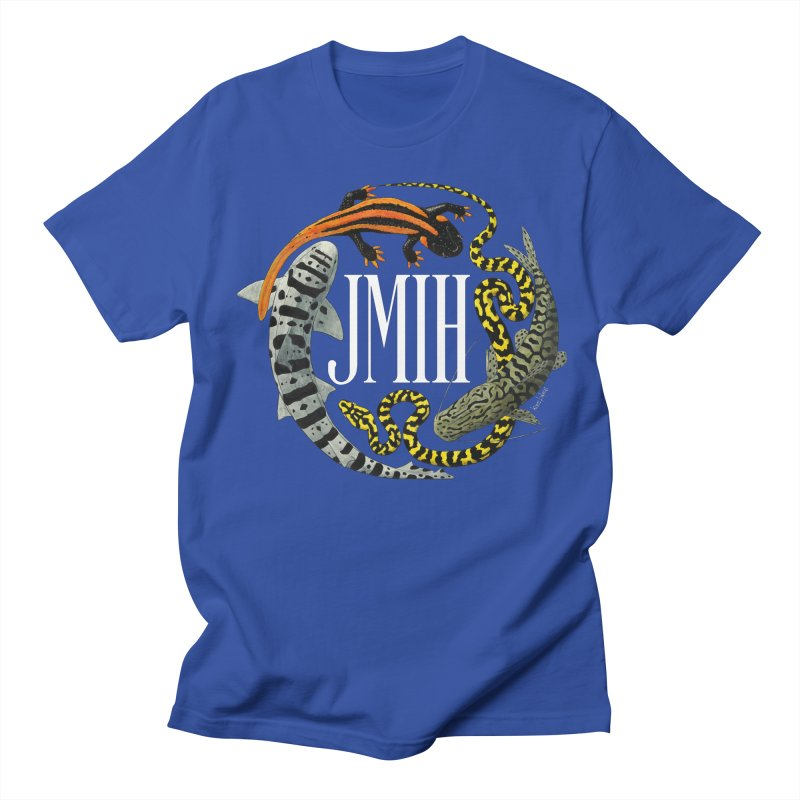 JMIH (for dark background) Women's Unisex T-Shirt by Kevin L. Wang Designs