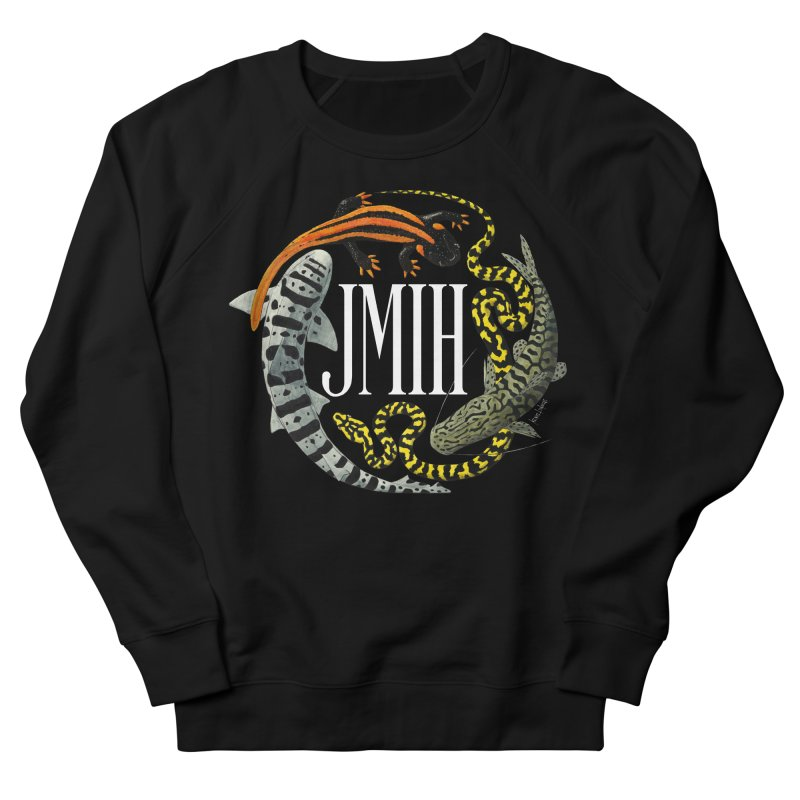 JMIH (for dark background) Women's French Terry Sweatshirt by Kevin L. Wang Designs