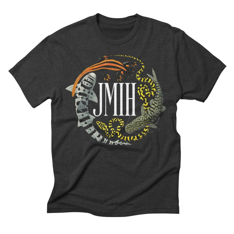 JMIH (for dark background) Men's Triblend T-Shirt by Kevin L. Wang Designs