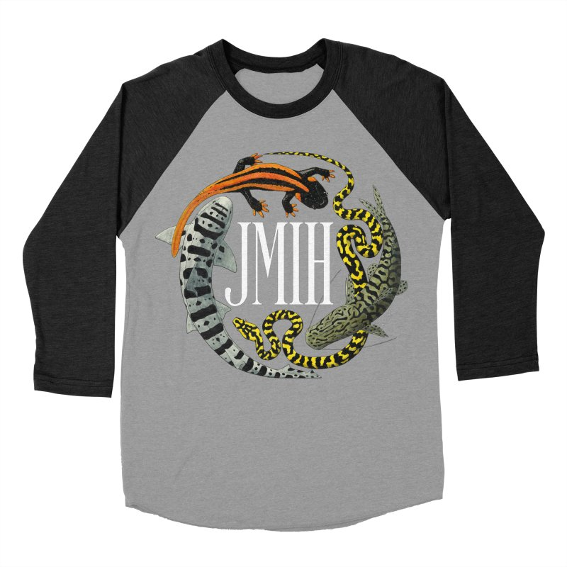 JMIH (for dark background) Women's Baseball Triblend T-Shirt by Kevin L. Wang Designs
