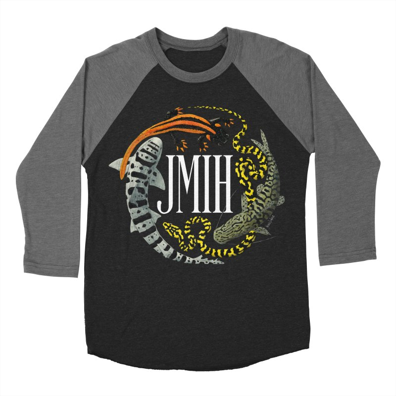 JMIH (for dark background) Men's Baseball Triblend Longsleeve T-Shirt by Kevin L. Wang Designs