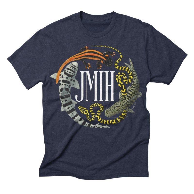 JMIH (for dark background) Men's Triblend T-shirt by Kevin L. Wang Designs
