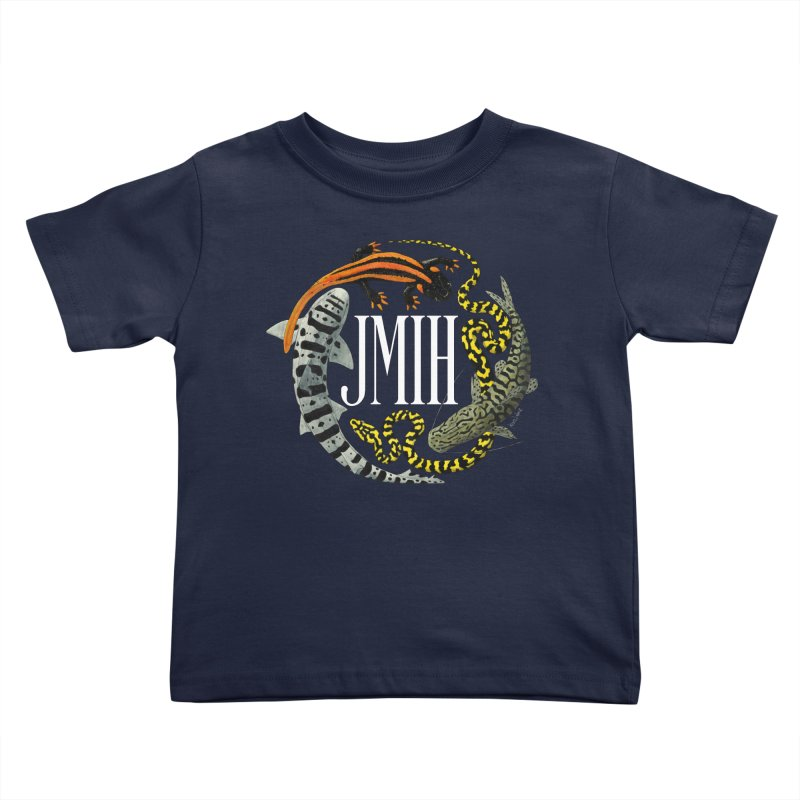JMIH (for dark background) Kids Toddler T-Shirt by Kevin L. Wang Designs