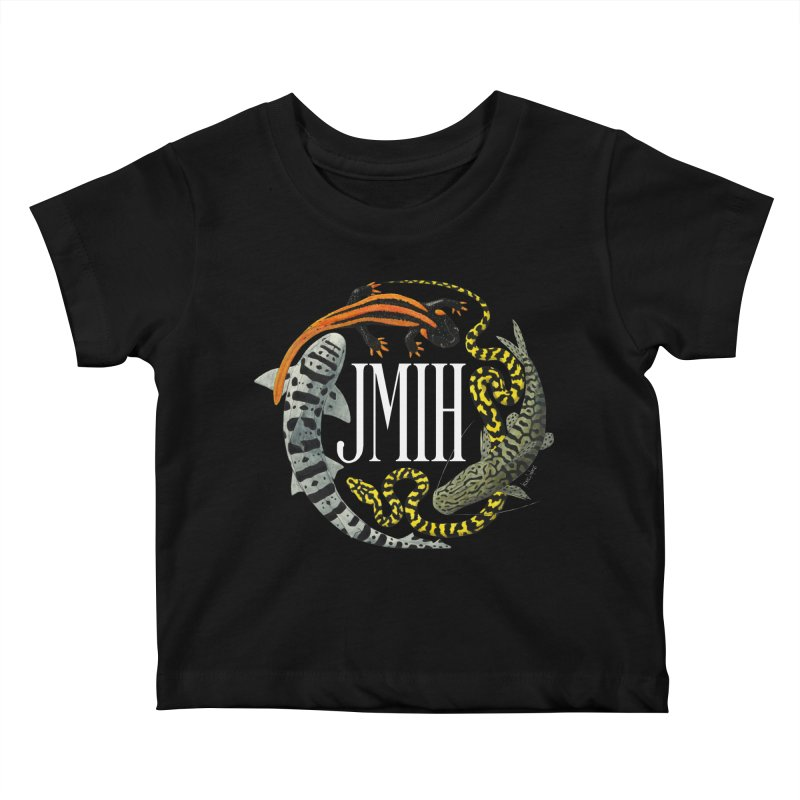 JMIH (for dark background) Kids Baby T-Shirt by Kevin L. Wang Designs