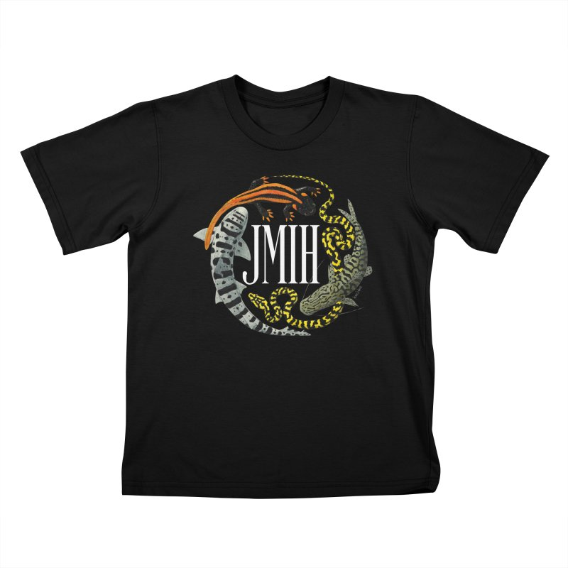 JMIH (for dark background) Kids T-Shirt by Kevin L. Wang Designs