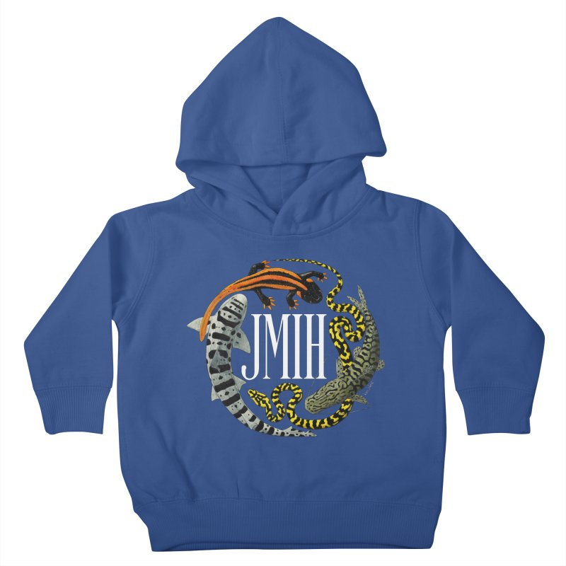 JMIH (for dark background) Kids Toddler Pullover Hoody by Kevin L. Wang Designs